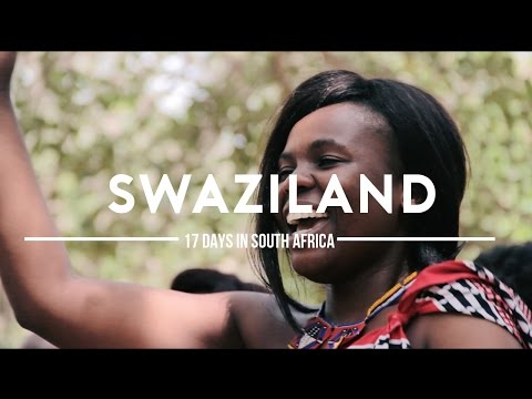 #5 Dansen in Swaziland. | 17 days in South-Africa.