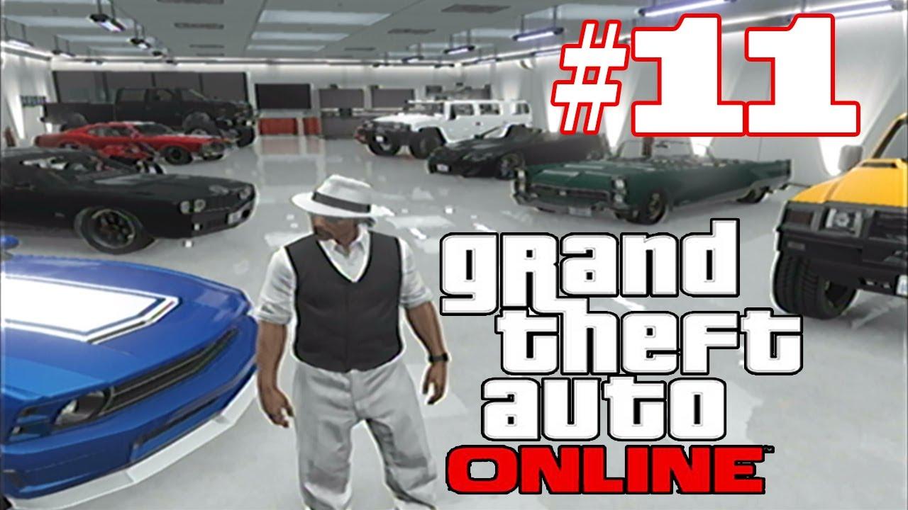 Gta 5 online cribs 11 house 10 car garage tour youtube for Garage 123 automobile villeurbanne