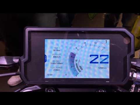 2017 KTM 390 Duke TFT Screen explained