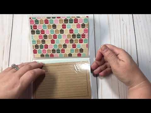 Recipe Books Using Dollar Tree Photo Album