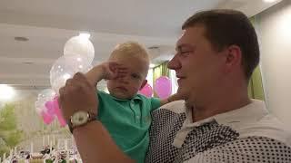 Видеосъемка 1 годик  Детский день рождение  1 годик видео клип  Видеооператор  Видеограф Днепр  Ютуб