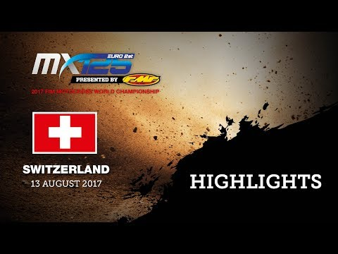 EMX125 Presented by FMF Racing Race1 Highlights - MXGP of Switzerland 2017 Presented by iXS