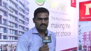 Vijay Prajapati Group at TREDA Property Show 2014 - HYBIZ.TV