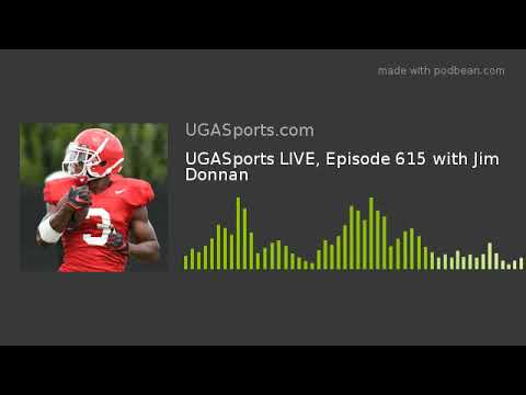 UGASports LIVE, Episode 615 With Jim Donnan