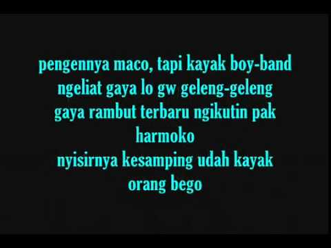 ECKO SHOW   Orasi  Omongan Rapper Sakit Hati  With Lyrics