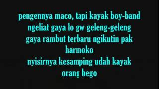 ECKO SHOW   Orasi  Omongan Rapper Sakit Hati  With Lyrics