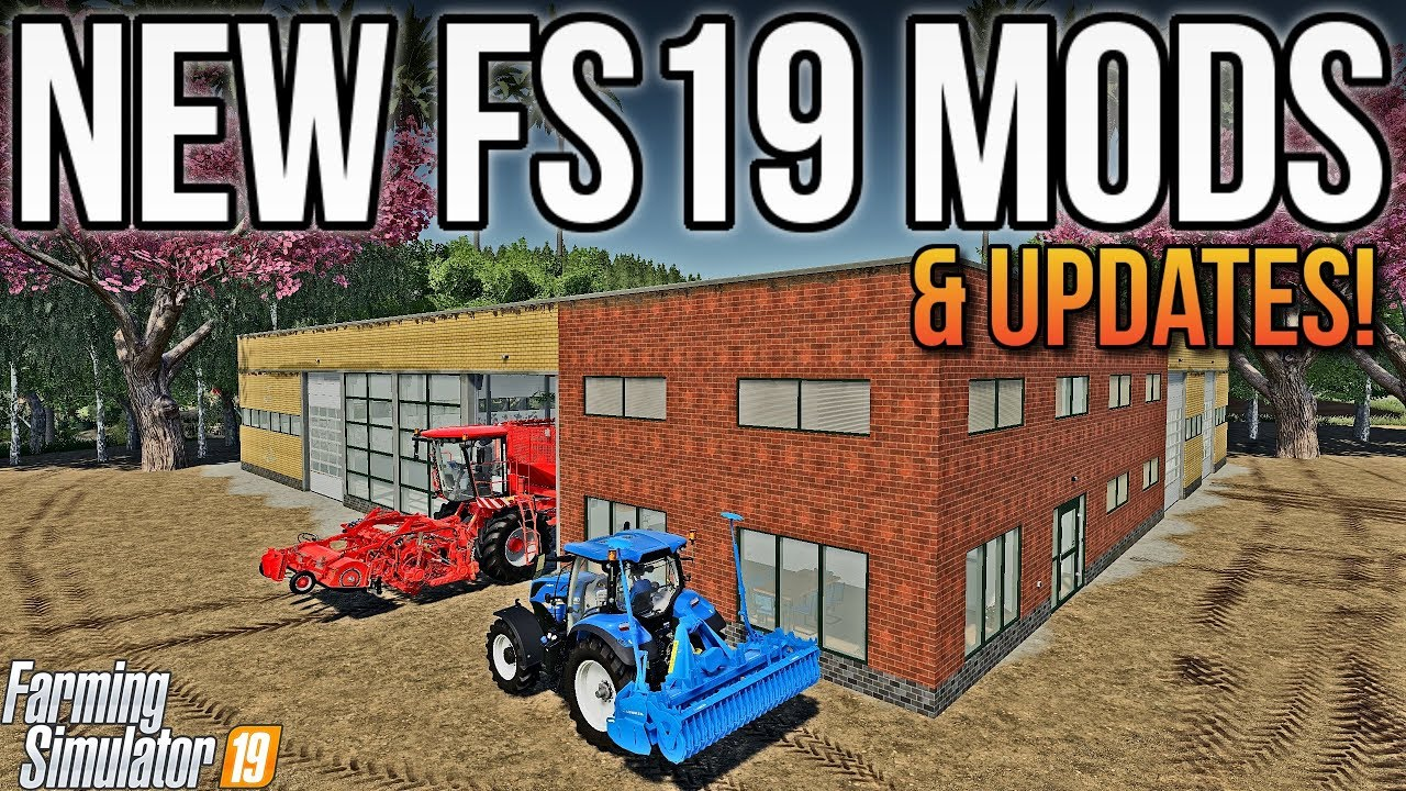 MEADOWGROVE IS OUT NOW! | New Mods For FS19! Скачать видео - скачать MP3