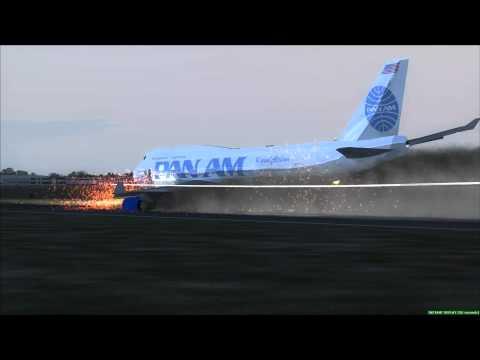 Bangkok Plane Crash 747-400