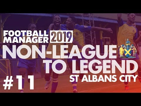 Non-League to Legend FM19 | ST ALBANS | Part 11 | PLAY-OFFS 1ST ROUND | Football Manager 2019