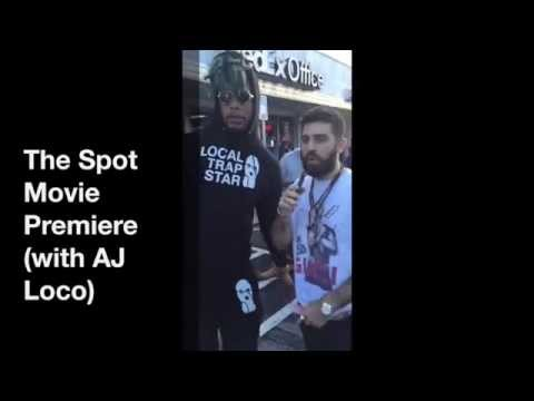The Spot Movie Premiere (with AJ Loco) @ The Plaza Theatre ATL
