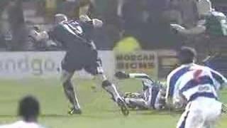 Southend vs QPR 09/02/07 Penalty Incident