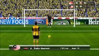 Repeat youtube video Final Sukan Sea 26 ( Malaysia vs Indonesia ) Pes 6 Version