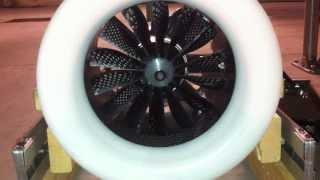 Edf vasyfan 135mm 14 blades 11kg thrust lipo 12S