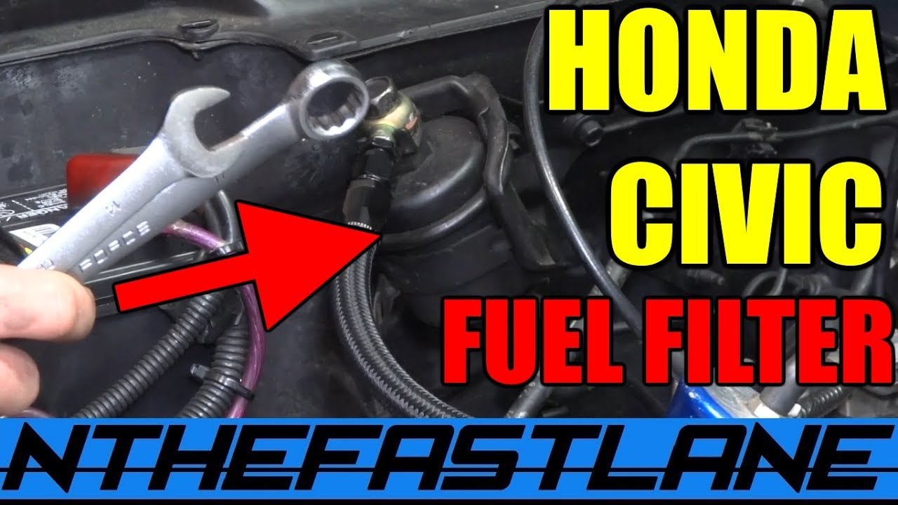 Honda Fuel Filter Replacement How To Youtube
