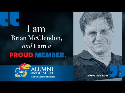 KU Alumni Association Proud Member Brian McClendon