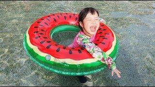 Romiyu Family Tour   Swimming pool   Water slide   PororoNoodle  로미유 태국 파타야 가족 여행 뽀로로 짜장면 - Romiyu