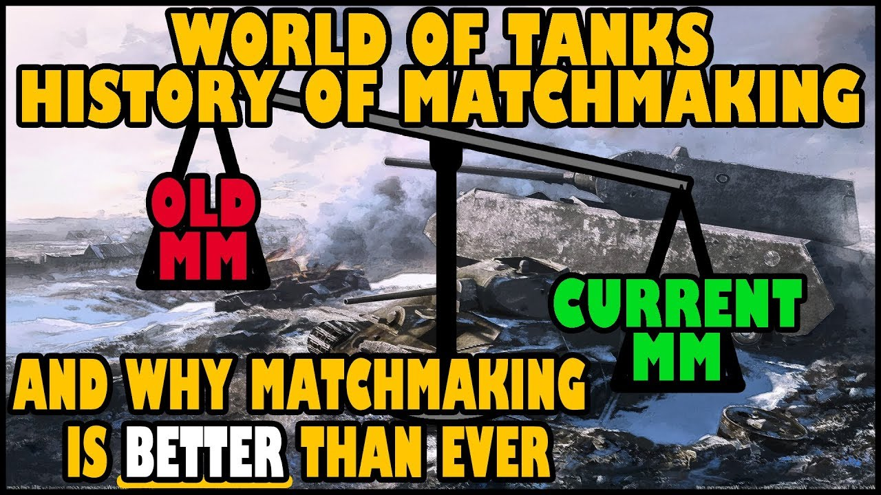 World of tanks bad matchmaking