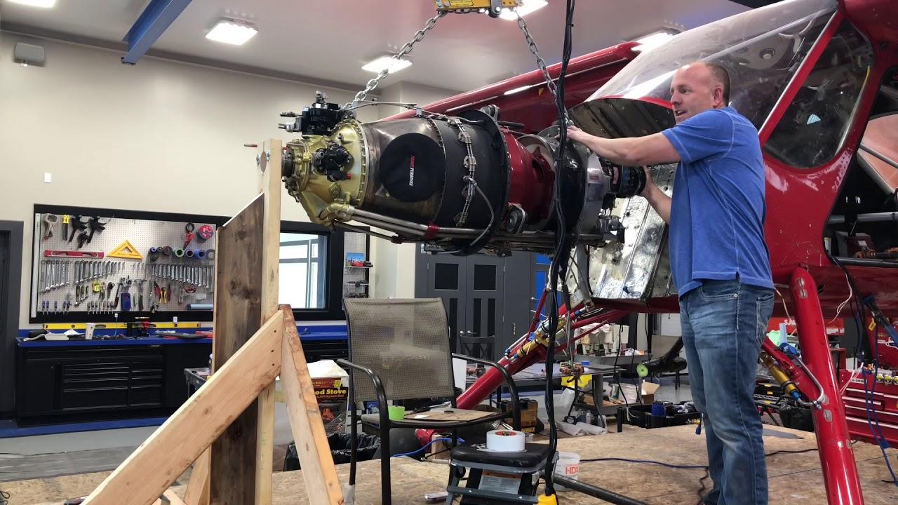 Mike Patey Wilga (DRACO Video 5) Engine Mount