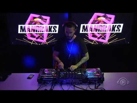 DJ MANDRAKS  - TECHNO  SET  DJ BAN - Abril2018