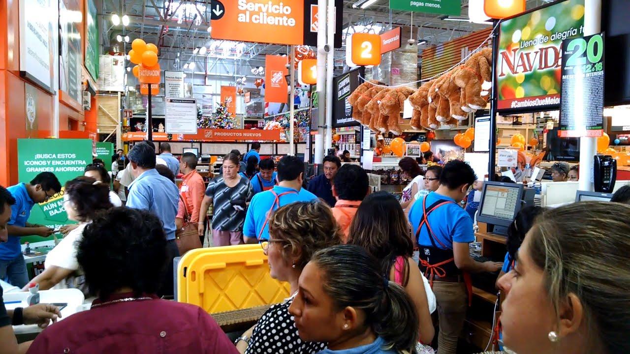 Invaden Los Pasillos De La Tienda The Home Depot Youtube