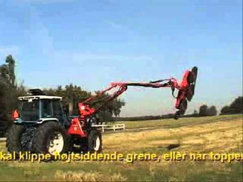 HKex ramme og save / HKEx with saws / HKEx mit Astsägen