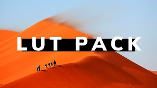 Cinematic LUTs Pack V3.00 2019 | 10 FREE LUT PRESETS TO DOWNLOAD by Kamran Brown