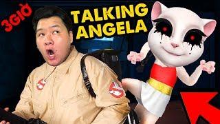 CÁCH TIÊU DIỆT TALKING ANGELA !!   ĐỪNG CHƠI TALKING ANGELA VÀO LÚC 3 GIỜ SÁNG cùng MAZK TV
