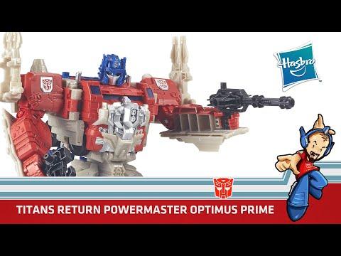 Transformers Titans Return Powermaster Optimus Prime & Apex Review en Español