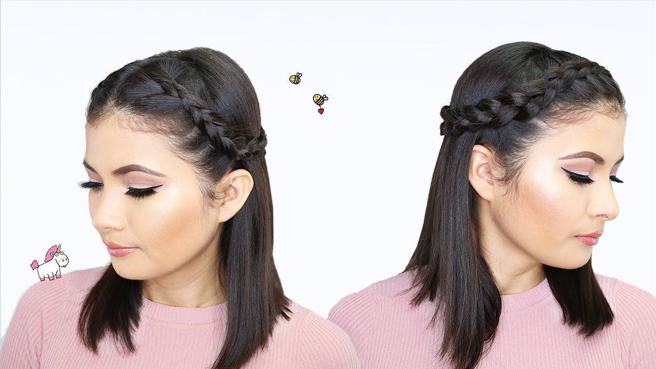 Peinados Faciles Y Rapidos Para Cabello Corto Bessy Dressy Youtube