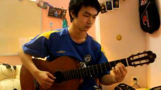 Nhớ mùa thu Hà Nội - guitar solo by Hungguitar9x