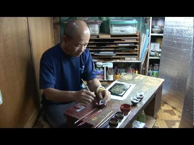 八女福島仏壇【八女の技の世界〜伝統に生きる匠たち〜 】