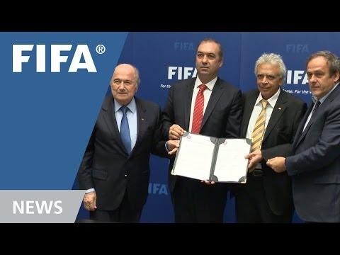 Cyprus Football Association and Cyprus Turkish Football Association Sign Landmark arrangement