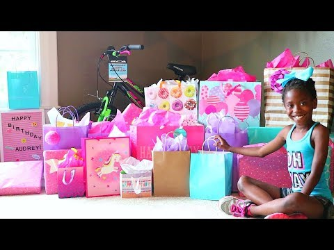 Audrey's 10th Birthday Opening Presents!