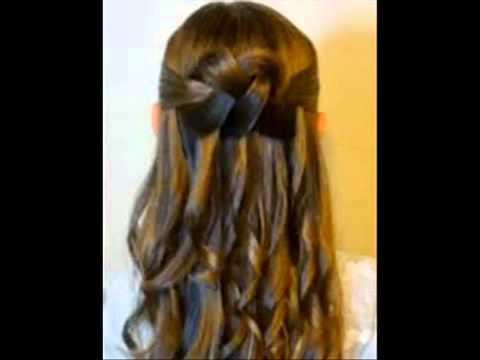 Peinados De Fiesta Para Ninas 1 Youtube