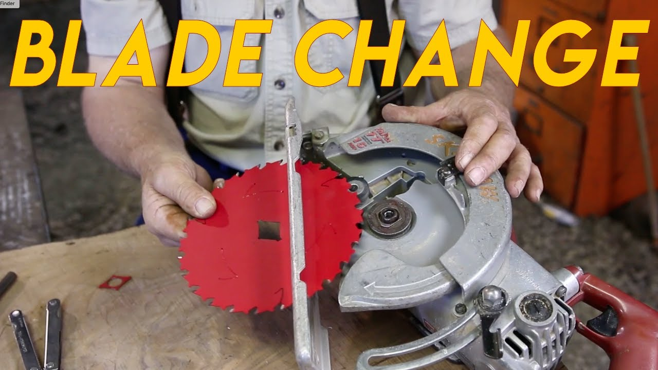 How to change the blade on a skil saw youtube how to change the blade on a skil saw greentooth Images