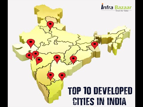 Top 10 Developed Cities In India