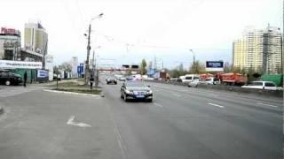 Кортеж Януковича в Киеве
