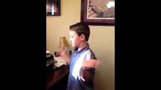 Nolan singing Rascal Flatts- boy with autism