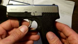 review and how to kahr p380 field strip hd