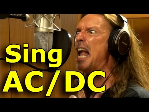 How To Sing ACDC- Brian Johnson - Ken Tamplin Vocal Academy