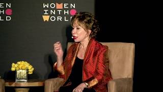 Isabel Allende on her foundation in honor of her daughter and its focus on refugees