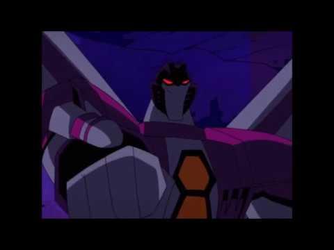 Transformers Animated: Starscream Vs Prowl Vs Lockdown