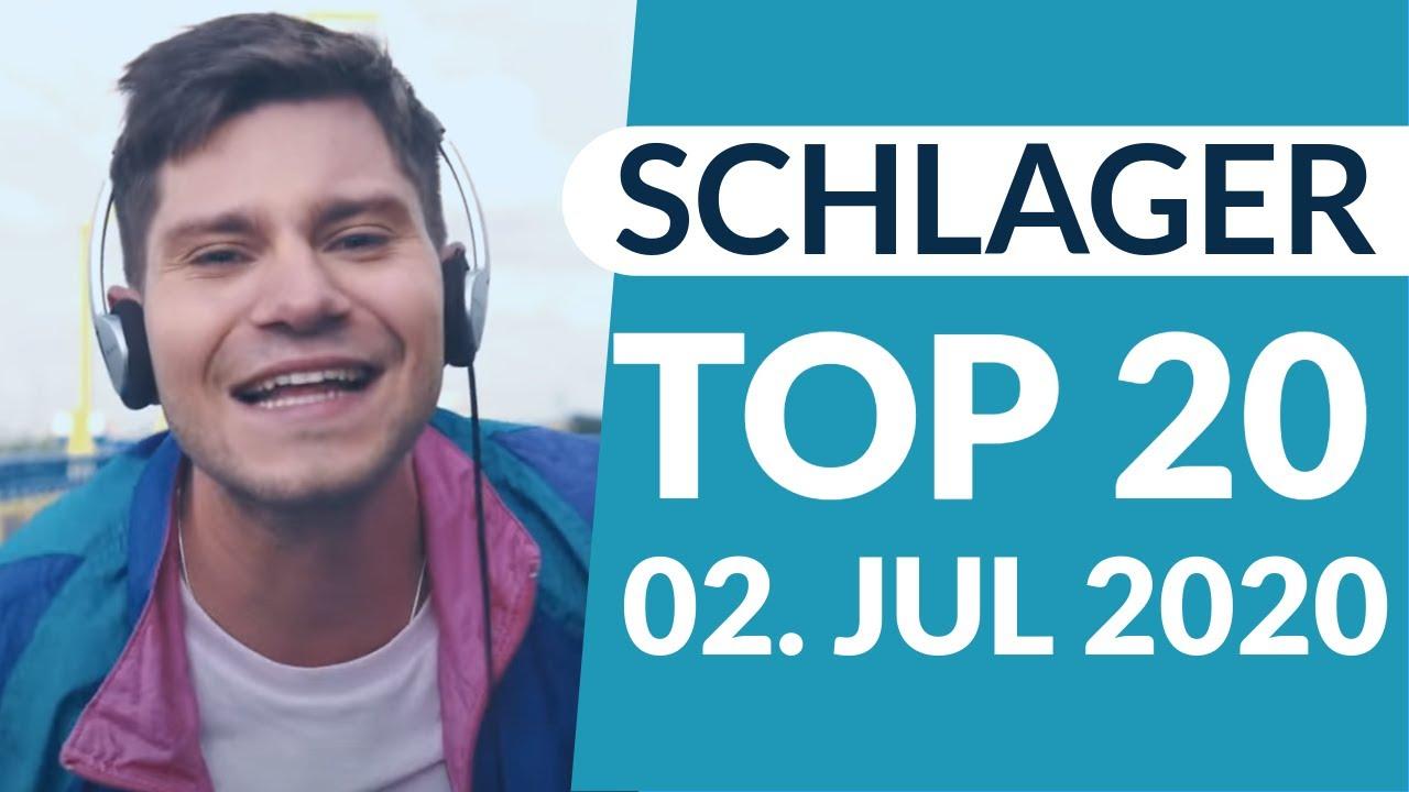 SCHLAGER CHARTS 2020 - Die TOP 20 vom 02. Juli