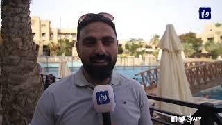 حركة نشطة شهدتها منتجعات وفنادق البحر الميت خلال عيد الفطر -(9-6-2019)