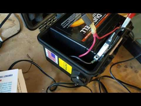 PV 2100 battery box