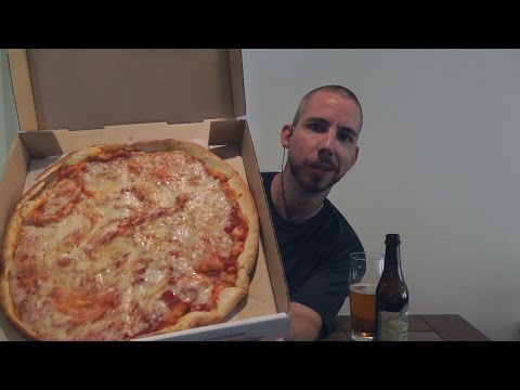 Pizza with Rift #1 / ASMR & Beer #36 - Dogfish Head 60 Minute IPA + Binaural ASMR Sound Exploration