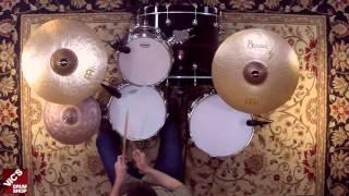 "Meinl Byzance Vintage 18"" Sand Thin Crash Cymbal"