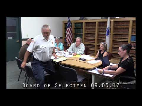 Board of Selectmen 09.05.17