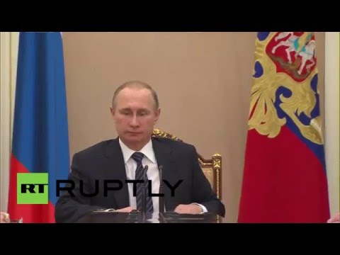 Russia: Putin meets with Security Council ahead of Geneva talks on Syria