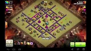 Clash of Clans - TH8 Dragloon - 813 (3 star) BK save the day - Clan Wars